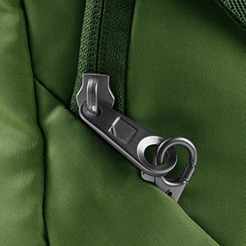 Lewis N. Clark Secura Anti-theft Cross Body Bag, Moss by Lewis N. Clark (Image #5)