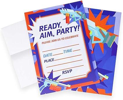 Amazon.com: Invitaciones para fiesta de cumpleaños de ...