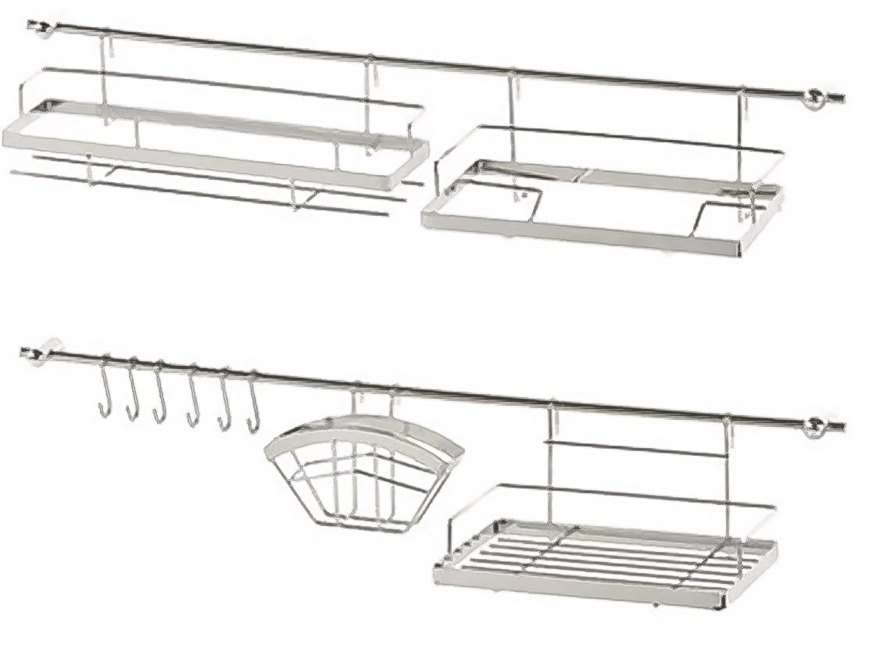 Organizador de almacenamiento Cocina Barra accesorio de 16/piezas: dispensador para toalla de cocina servilletas utensilios de cocina cubiertos especias muchos otros por metlex iweks