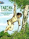 Tarzan Coloring Book, Edgar Rice Burroughs and John Green, 0486403599