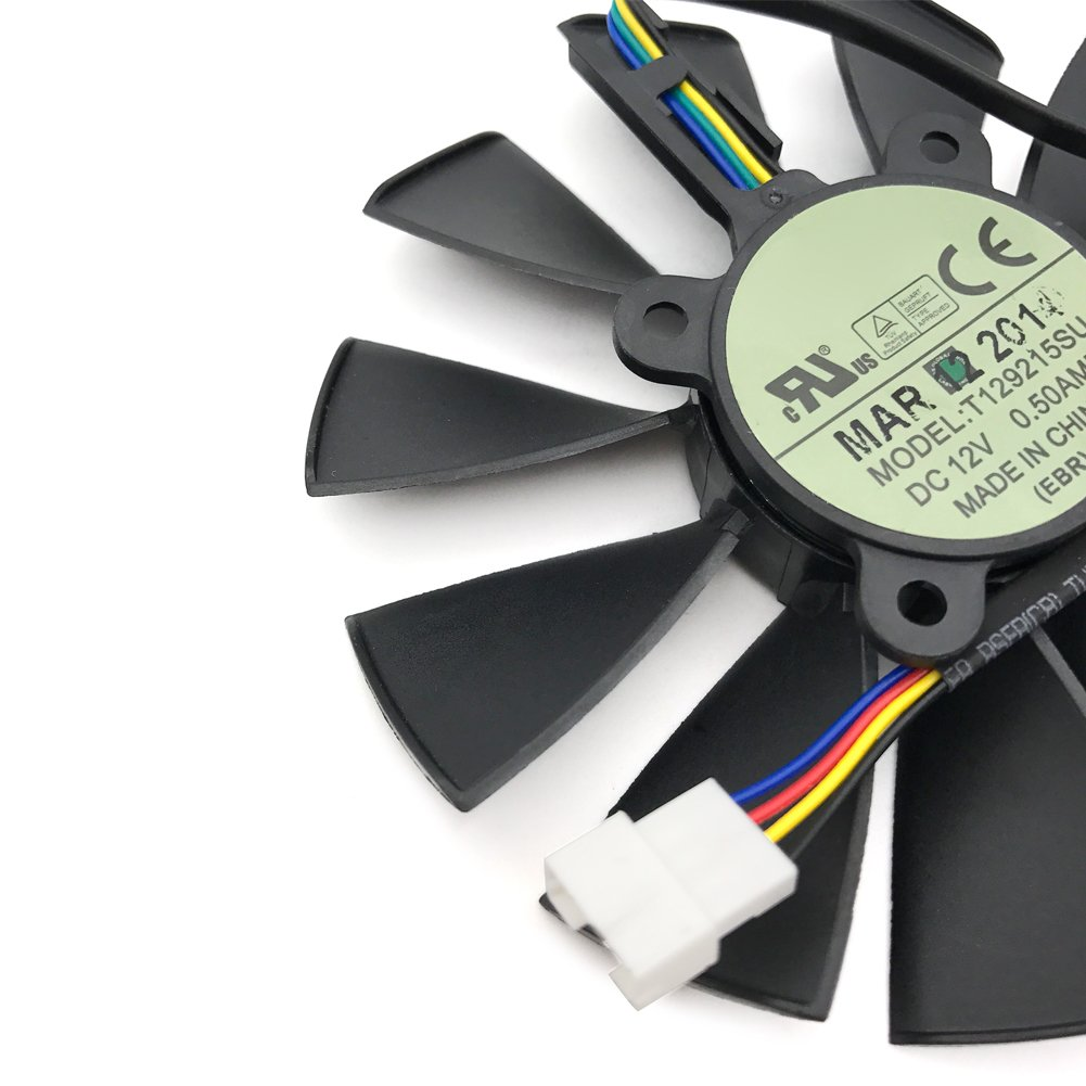 FAN-A 1 pcs For ASUS STRIX GTX780 780TI GTX970 980 R9 280x 290X graphics card fan T129215SU