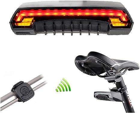 Luz trasera de bicicleta inteligente NIDITO bicicleta Luz trasera ...