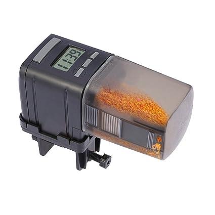 WANYI Alimentador Automático de Peces, Alimentador Peces Automático, Alimentador Automático para Tanque de Acuario