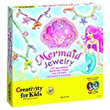 Creativity for Kids Mermaid Jewelry - Mermaid Necklace and Bracelet Making Kit