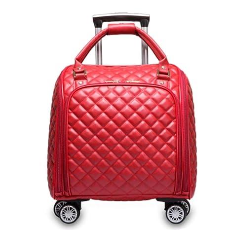 AXDNH Gran Capacidad Trolley Bolsa señoras Equipaje ...