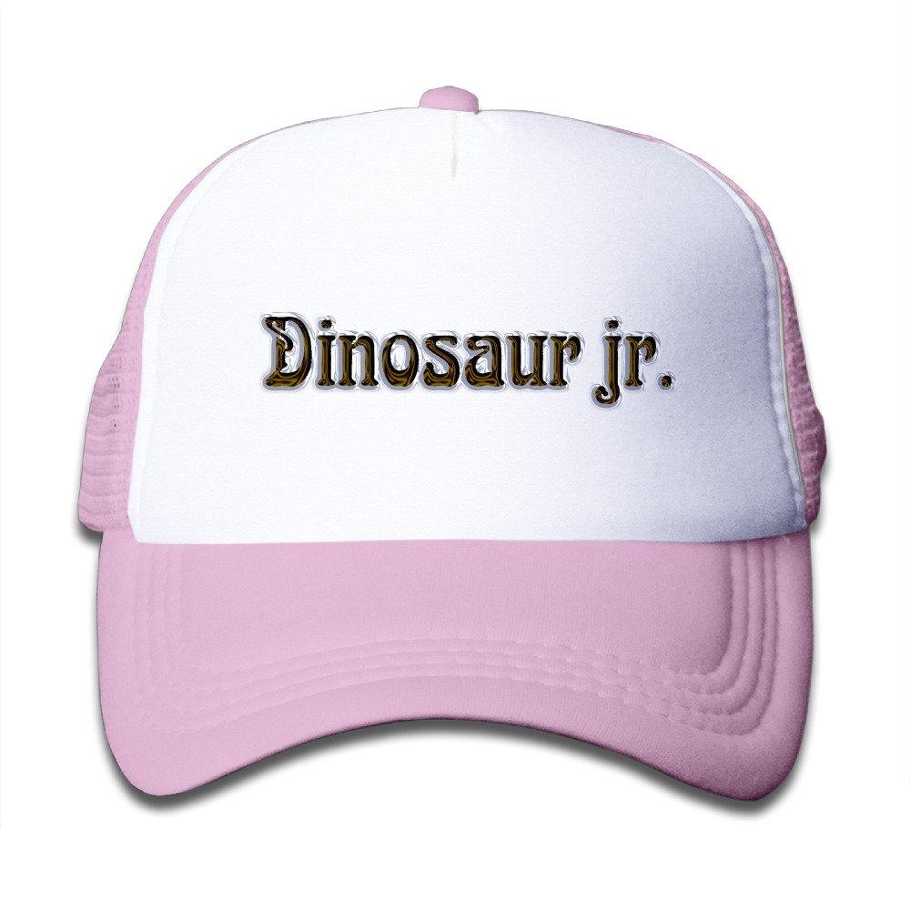 4886e9d55848b Amazon.com  MAKO Dinosaur Jr Mesh Caps Snapback Hats Baseball Caps Caps Hats  For Kids Pink  Clothing