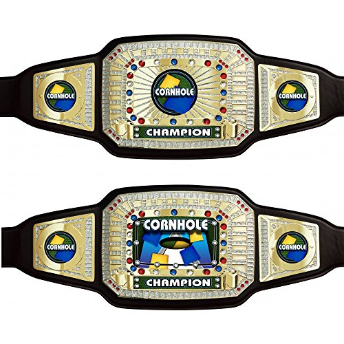 Cornhole Championship Award Belt by TrophyPartner by TrophyPartner (Image #3)