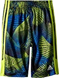 adidas Kids Baby Boy's Amplified Net Shorts (Toddler/Little Kids) Bright Yellow 3T