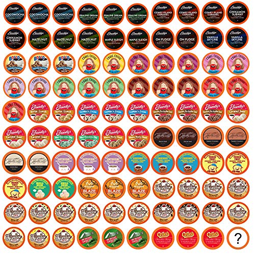 TWO RIVERS COFFEE Pods Compatible with 2.0 Keurig K-Cup Brewers, Assorted Flavored Coffee 100 Count