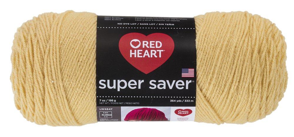 Cornmeal RED Heart Super Saver Yarn