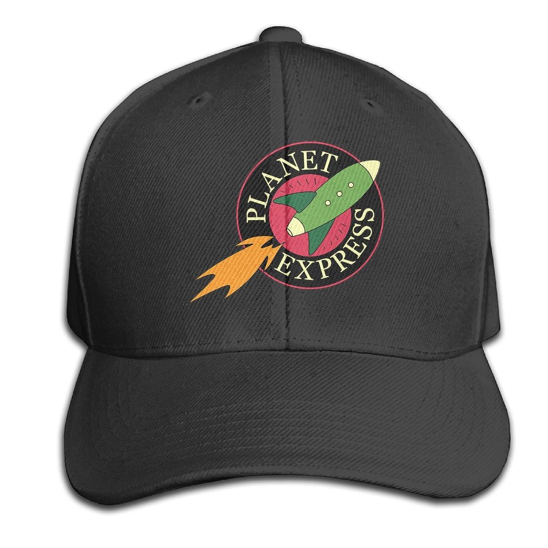 Futurama Planet Express Hats Adjustable Black Baseball Cap