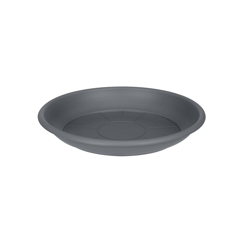 Elho saucer round 21cm saucer - anthracite 1390302142500
