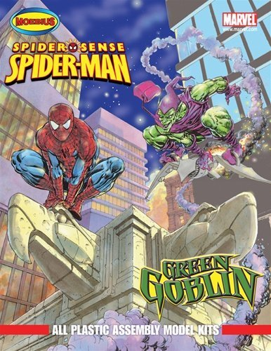 Green Spider (Moebius Spider Sense Spider Man and Green Goblin Plastic Assembly Model Kits)