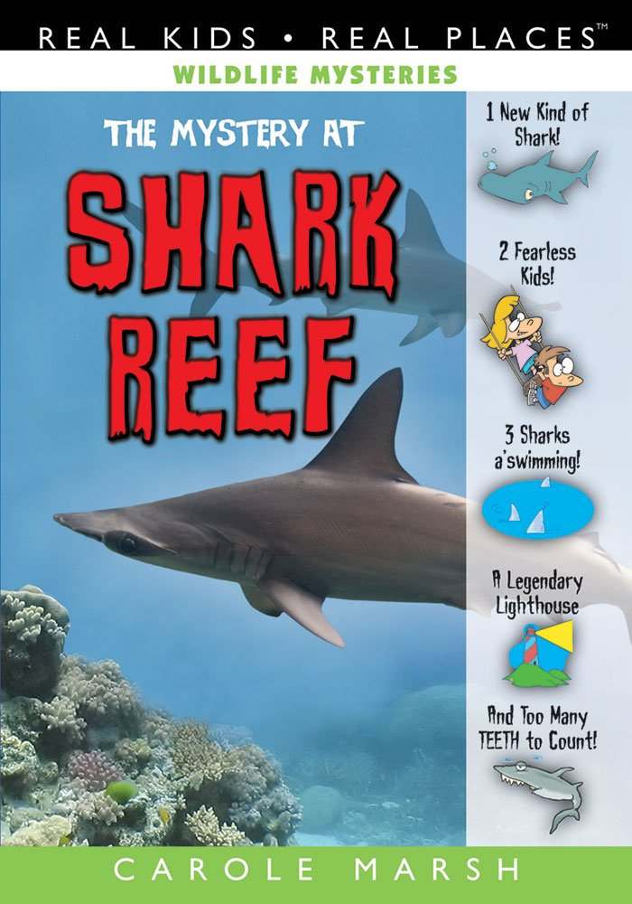 The Mystery at Shark Reef (2) (Wildlife Mysteries) pdf epub