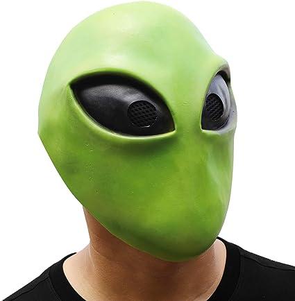 Hengyutoy Mask Halloween Costume Latice Maschera aliena