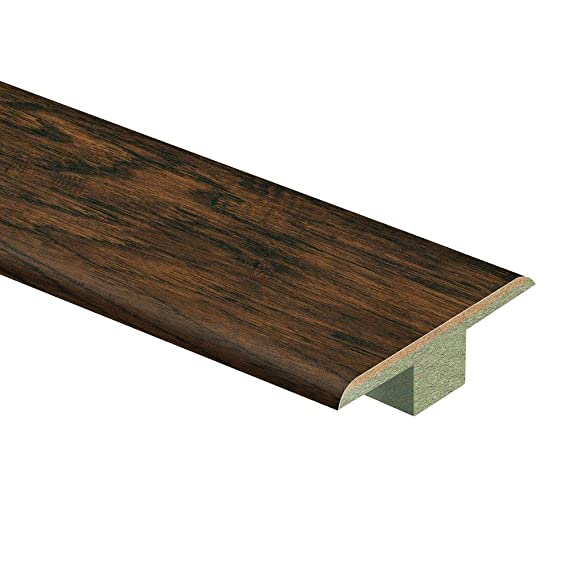 Length Laminate Stair Nose Molding Distressed Brown Hickory 3//4 in Wide x 94 in Thick x 2-1//8 in