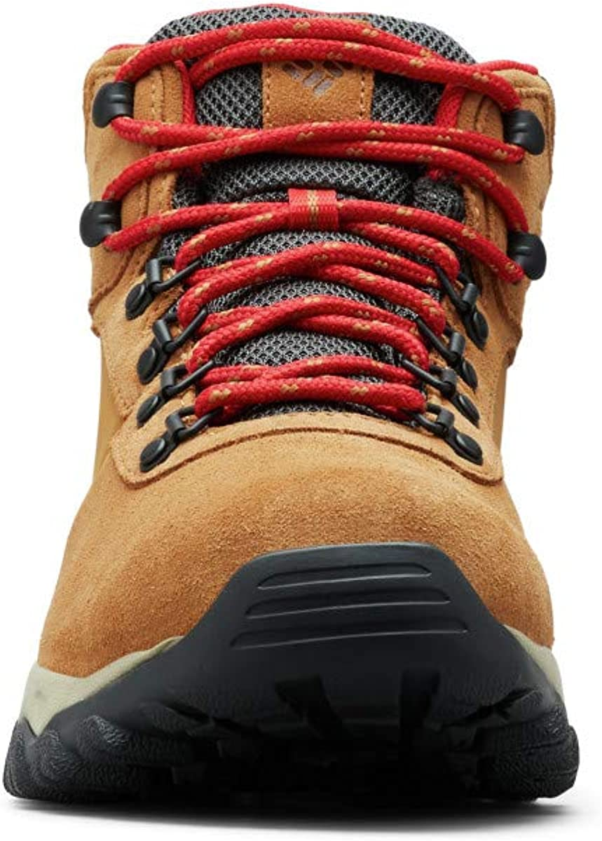Columbia Mens Newton Ridge Plus Ii Suede Waterproof Hiking Shoe