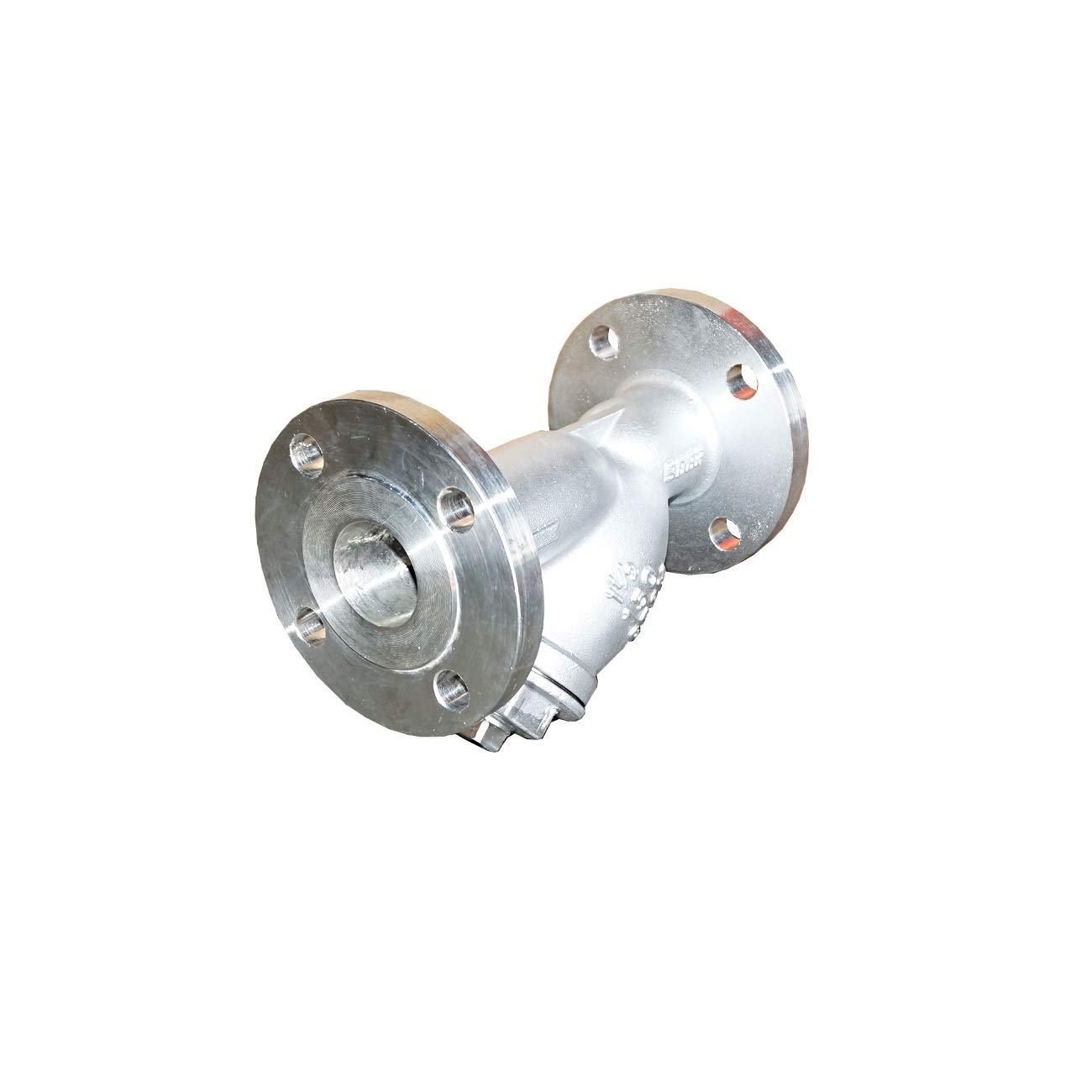 with Mesh Size 1.0MM 1 1//2 Flange End Y-Strainer ANSI 150# Type Stainless Steel SS316 Material