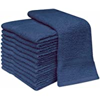 Trendy.Clothing PACK OF 12 100% COTTON FACE CLOTH TOWELS FLANNELS WASH CLOTH 400 GSM