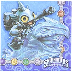 Skylanders Beverage Napkins, Party Favor