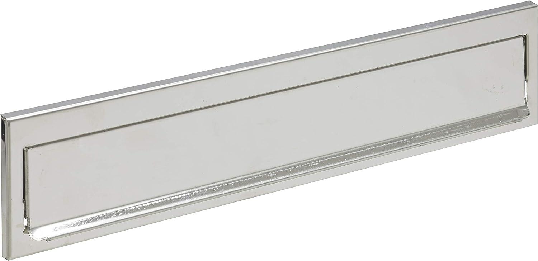 Arregui C611 Bocacartas de Acero Inoxidable, 342 x 73 mm, Inox espejo