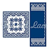 Tattered Lace Floating in the Air Square Surprise Cutting Die Set TLD0200