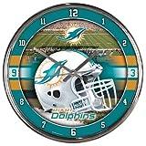 NFL Chrome Clock