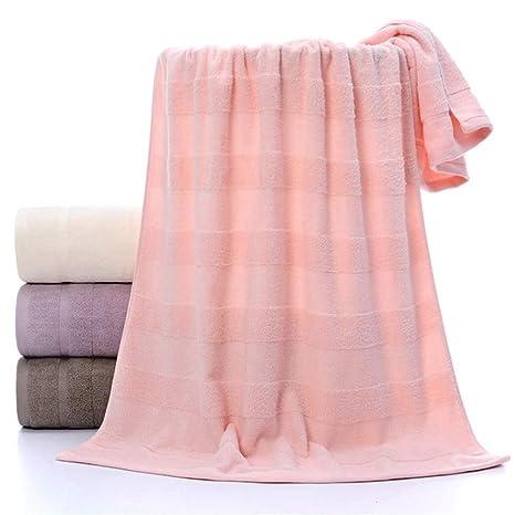 DYEWD Toallas Grandes de algodón Liso, Toallas Gruesas Aumento de algodón, Ultra Suave y