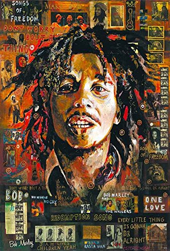 Bob Marley The Regend of Reggae Music Poster Size 24x35 Inch O-55130