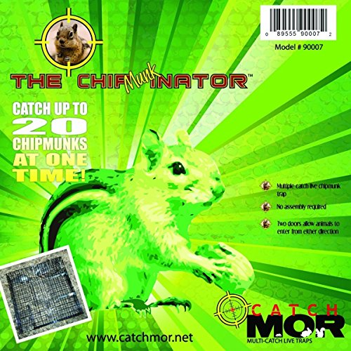 - Rugged Ranch The Chipmunkinator Live Chipmunk Trap