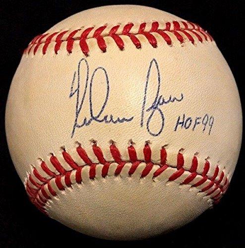 Ryan Nolan Ball (Signed Nolan Ryan Baseball - HOF 99 Strikeout King Authentic - PSA/DNA Certified - Autographed Baseballs)