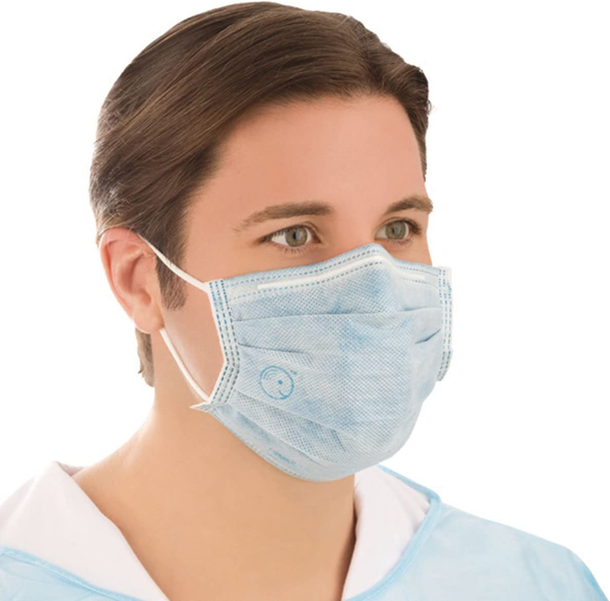 Antiviral Per Curad Mask With com Amazon 24 Isolation Earloops