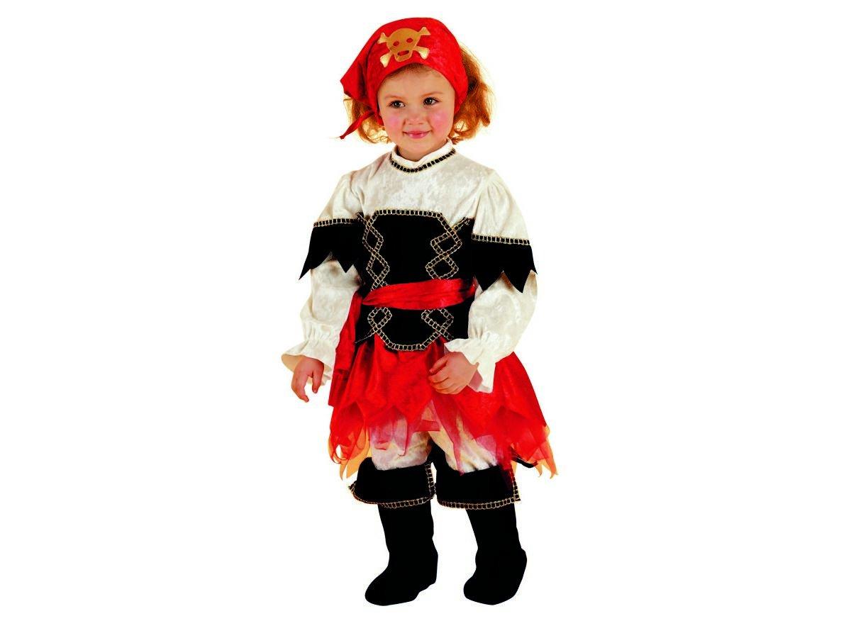 Costume Corsara Baby Corsarina - 2   3 anni