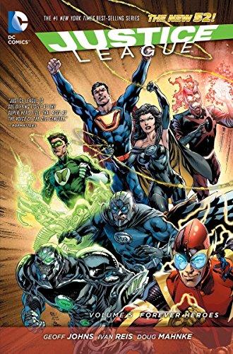Justice League Comic (Justice League Vol. 5: Forever Heroes (The New 52) (Justice League: the New 52))
