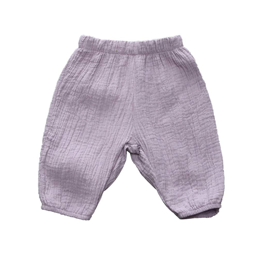 Hongyuangl Nettes Kleinkind scherzt Baby M/ädchen Beil/äufige Elastische Haremhosen Geerntete Hose