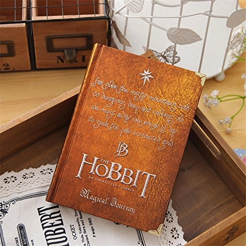Hobbit Vintage Hardcover Notebook – LOTR