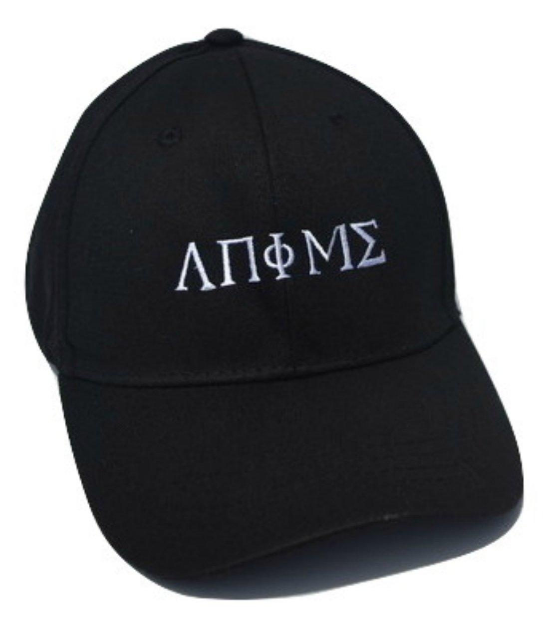 Variable Outpost Anime Greek Lettering Style Adjustable Hat (Black)