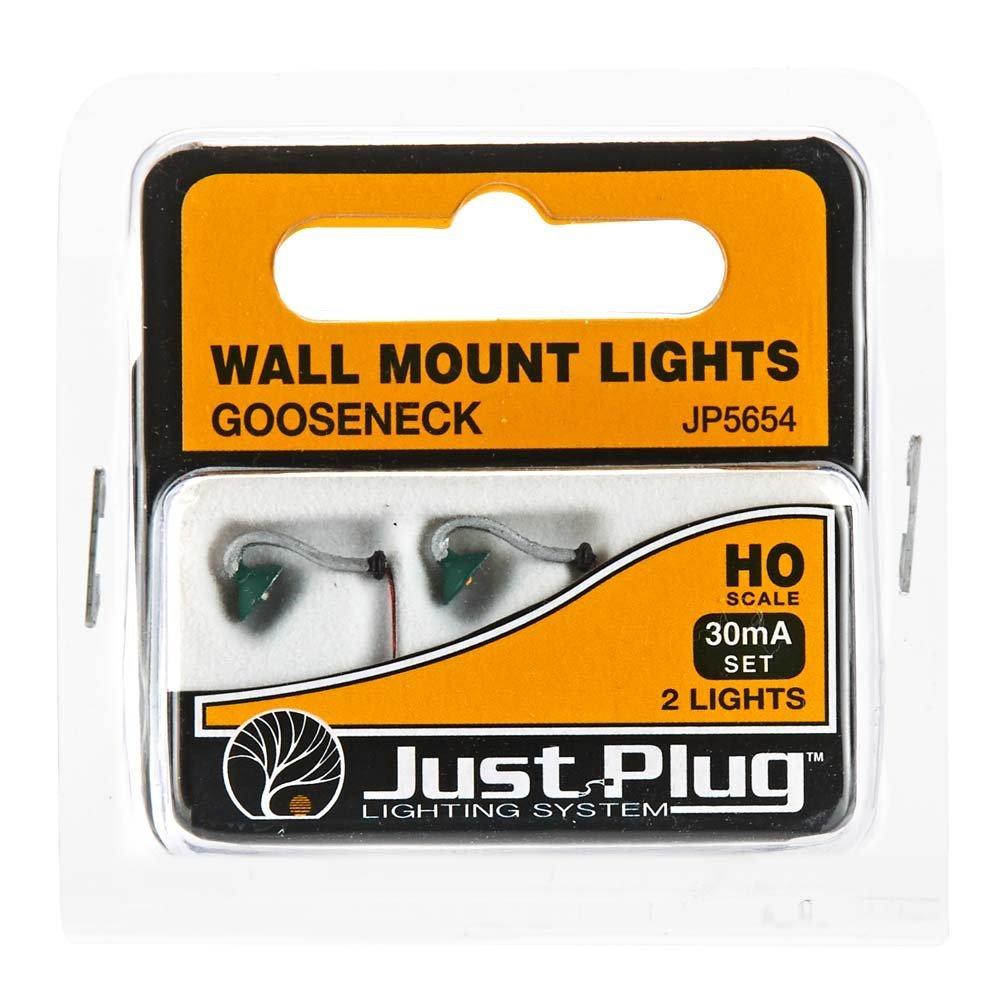 新到着 Just Plugs B01L0EP54K Woodland Scenics Mount HO scale Wall Just Mount Lights Gooseneck B01L0EP54K, DUCT SHOP:177a10f9 --- a0267596.xsph.ru