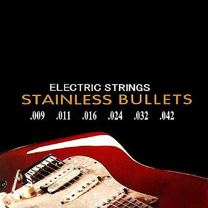 Ociodual Nickelplated Juego De Cuerdas para Guitarra Electrica 350L Guitar Metal M04