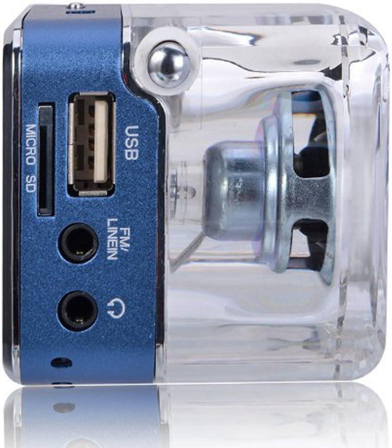 NIZHI TT-028 Portable Music Box USB TF Micro SD Card MP3 Player LCD Time Display Mini Speaker FM Radio