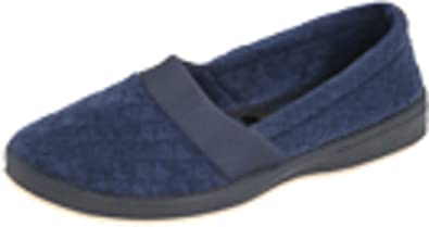 Foamtreads Women's Coddels Slipper,Navy,5.5 ...