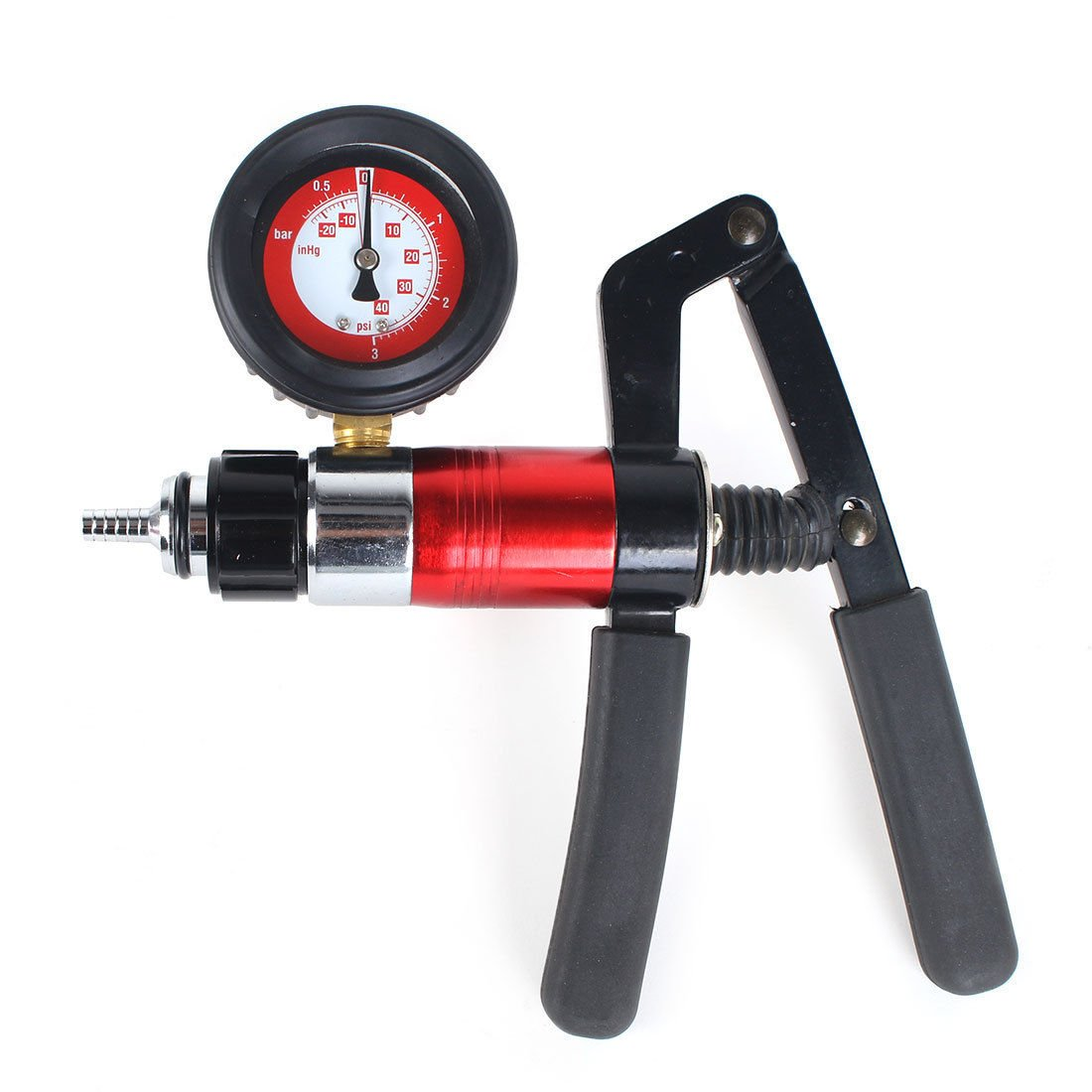 PMD Products Hand Held Vacuum and Pressure Pump with Pressure to 40 PSI  (3 1 bar) and Vacuum to 20 inHG