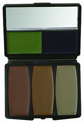 5 Color Military Forest Digital Makeup Kit