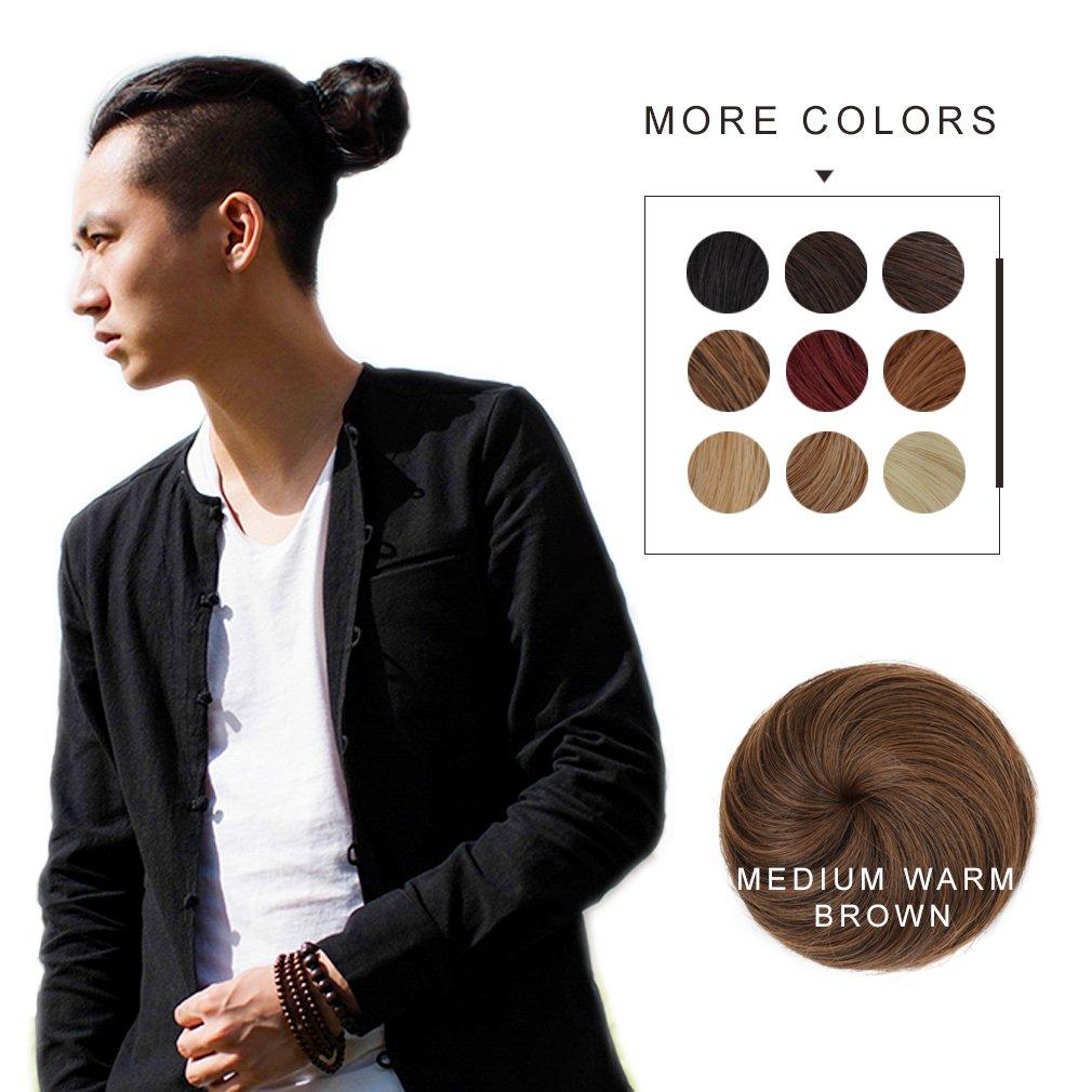 Amazon Fast Hair Bun For Men Reecho Hair Extensions Chignon