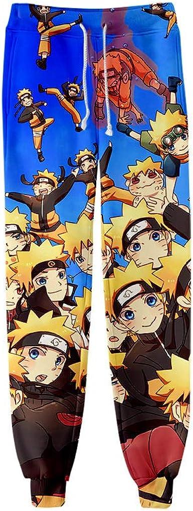 Xiyyou Pantalones De Manga 3d Pantalones De Chandal De Anime 3d Pantalones De Chandal Pantalones De Dibujos Animados Completos Para Hombre Pantalones De Chandal Unisex Anime Naruto Amazon Es Ropa Y Accesorios