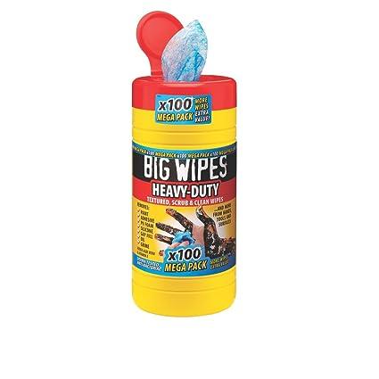 Big Wipes Industrial toallitas de limpieza Azul Paquete de 100