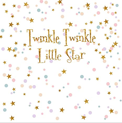 7c2a768fd VV Twinkle Twinkle Little Star Baby Shower Photo Background 5x7ft Colorful  Dots Gold Star Photo Backdrop
