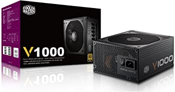 Cooler Master V1000 Full Modular 80+ Gold Certified 1000W Power Supply