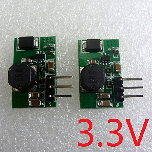 Price comparison product image RUNNINGPART 2pcs 1.2A 5V 6V 9V 12V to 3.3V DC DC Converter Step Down Buck Regulator Board for esp8266 WIFI Bluetooth Zigbee Module