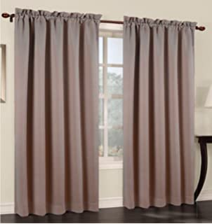 Curtains Ideas 54 inch long curtain panels : Amazon.com: Commonwealth Rhapsody Lined Solid Sheer Grommet ...